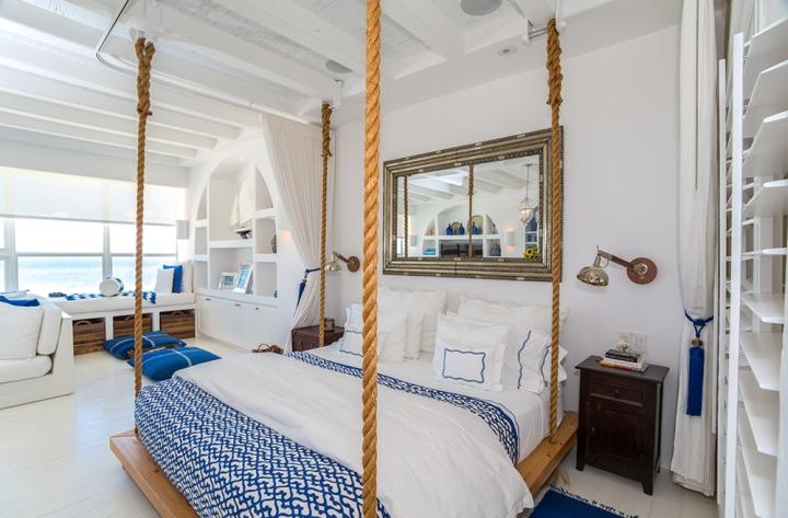 Фото подвесной кровати в интерьере