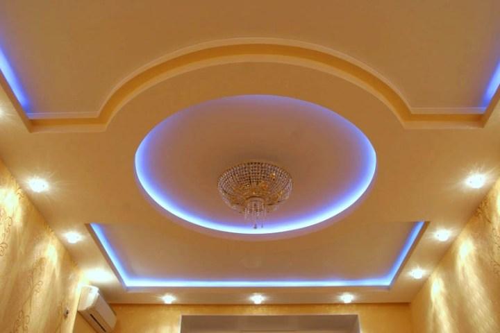 Потолок с закрытой подсветкой