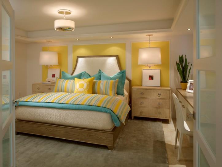 Лимонная спальня