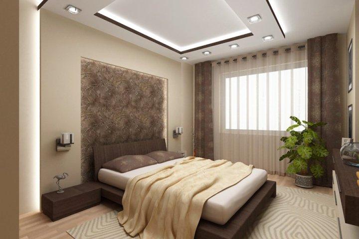 Нейтральный цвет спальни