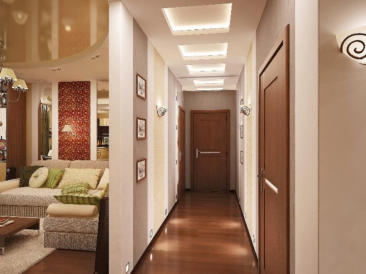 Декор коридор фото