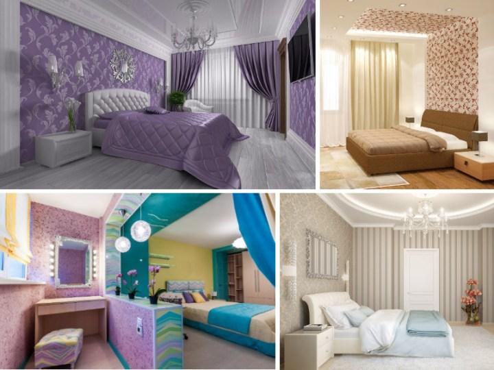 Правильный выбор обоев в спальню