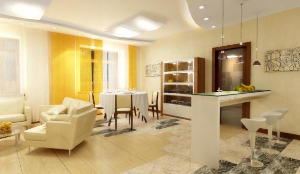 Оформить интерьер квартиры студии