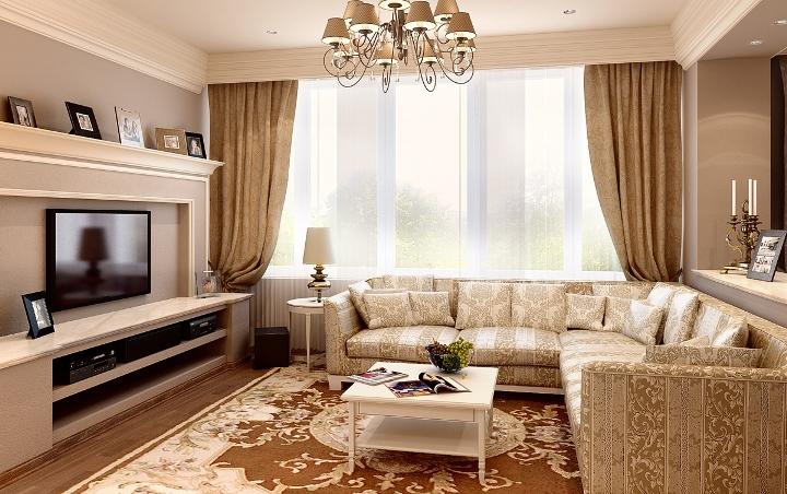 Красивый цвет для оформления зала