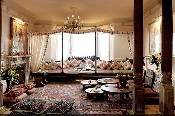Роскошный интерьер в мавританском стиле