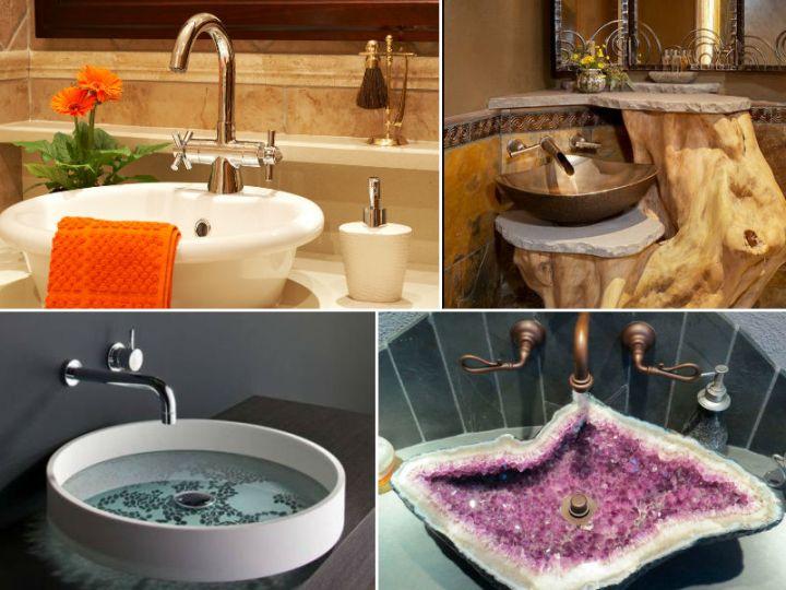 Фото раковин в интерьере ванной