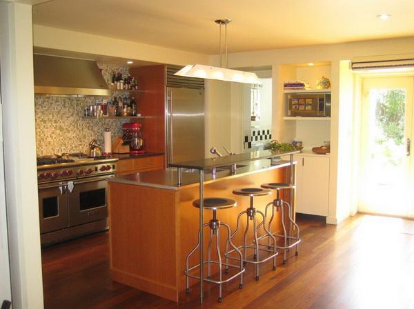 остров на кухне