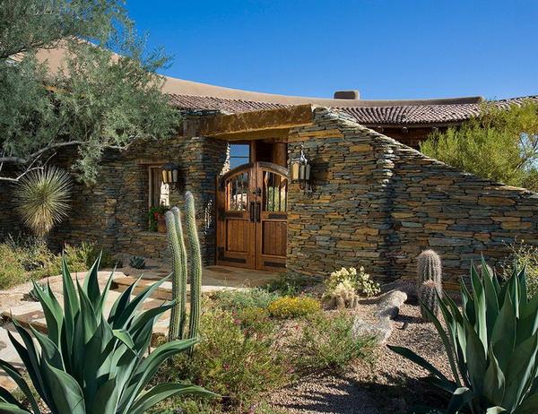 внешний вид дома в юго-западном стиле