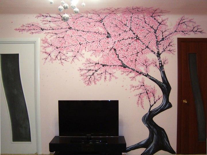Дерево нарисованное своими руками
