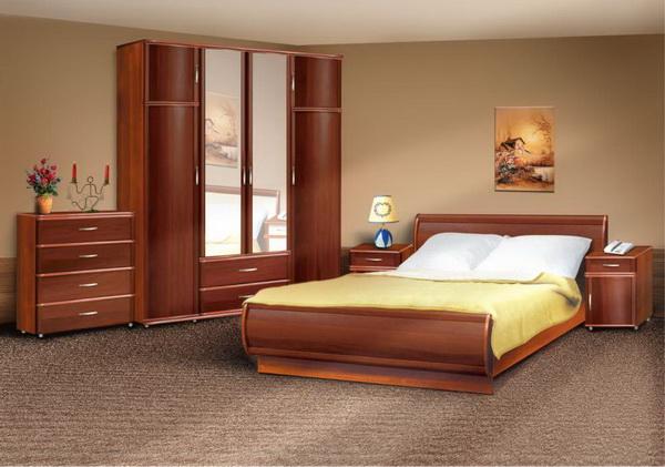 флокированное покрытие в спальне