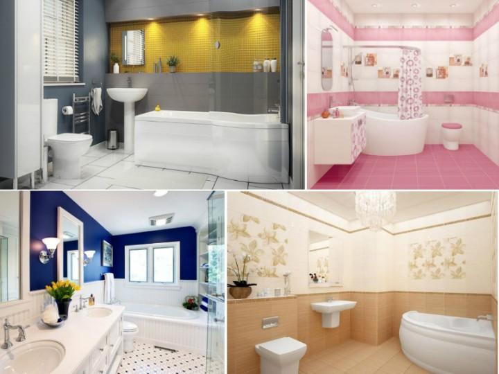 Фото ванных комнат с правильно подобранным освещением