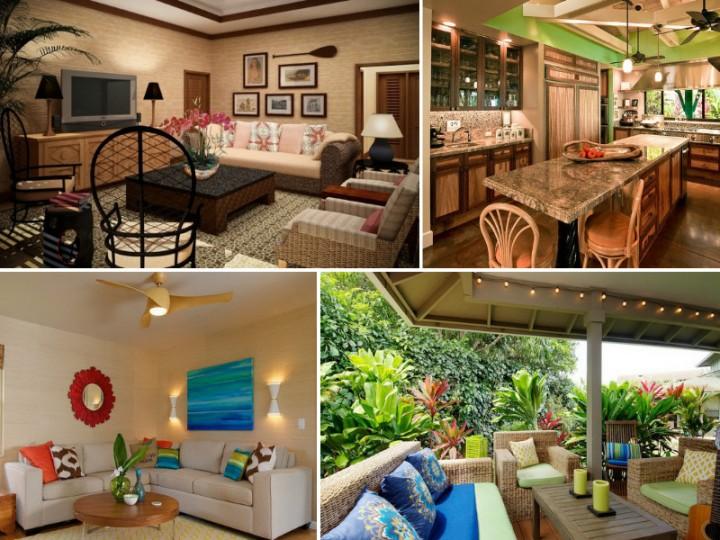 Идеи для интерьера в гавайском стиле