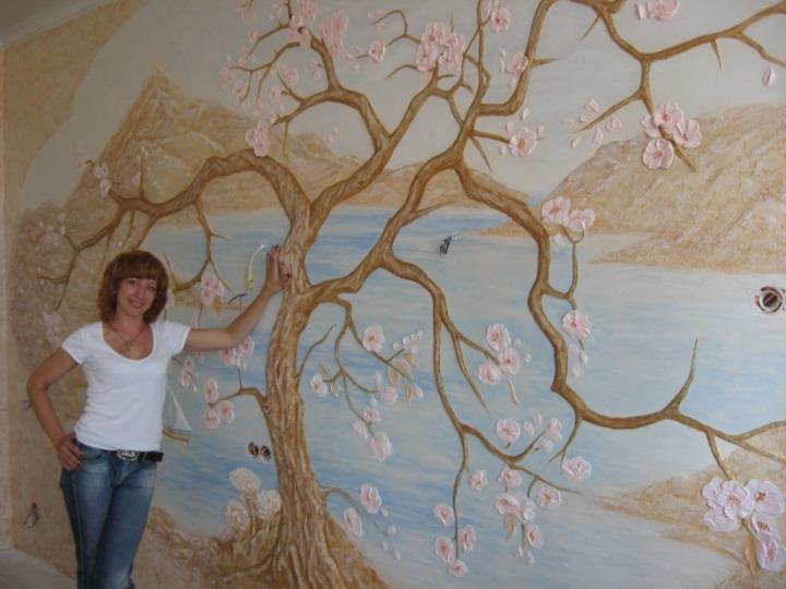 Мастер классы роспись стены своими руками