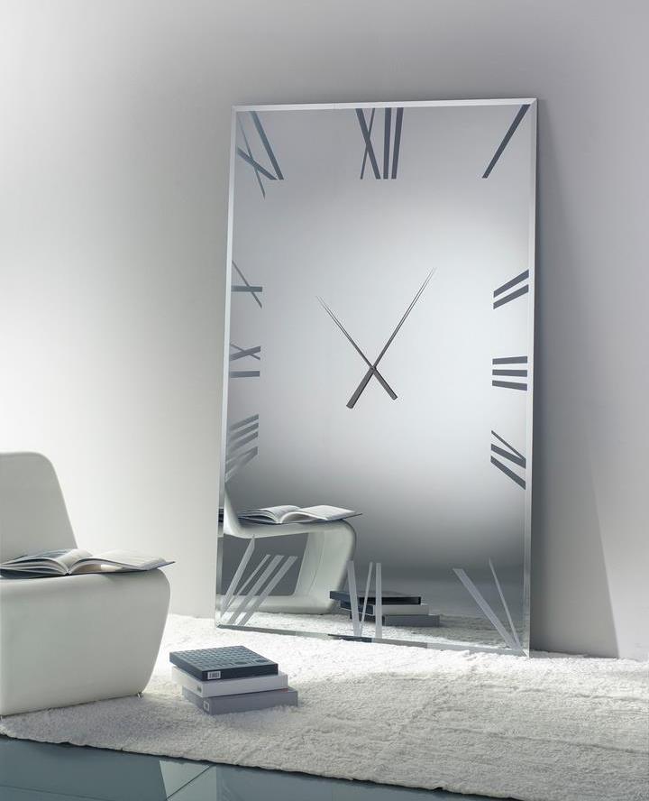 Часы-зеркало