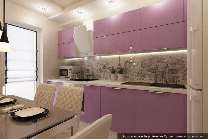 Красивое оформление кухни 9 квадратов