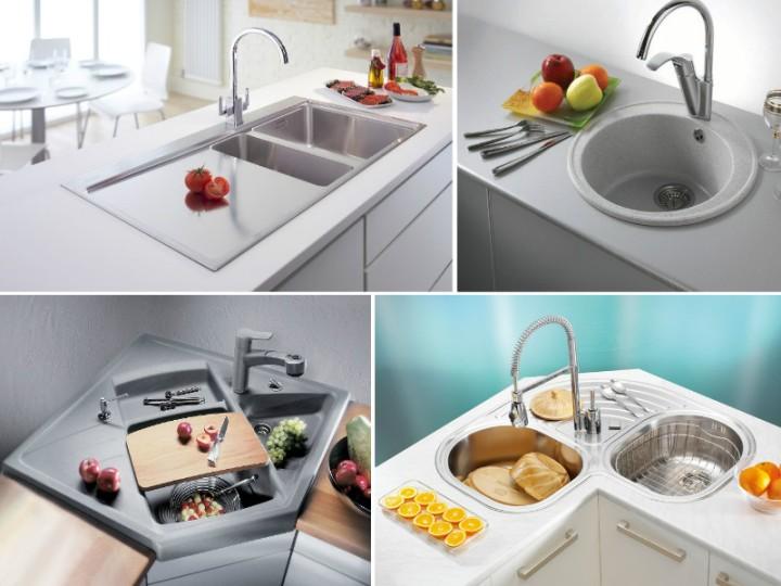 Фото кухонных моек