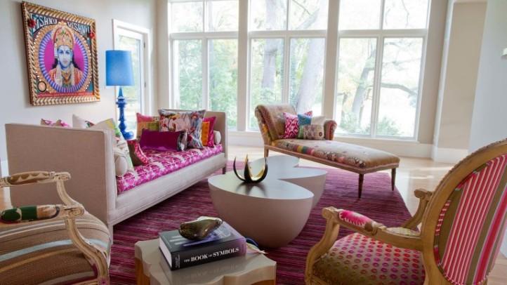 Индийский стиль комнаты