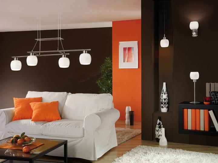 Коричнево-оранжевый