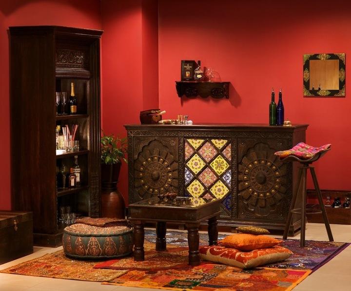 Мебель в индийском стиле