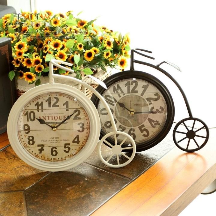 Настольные часы в стиле прованс