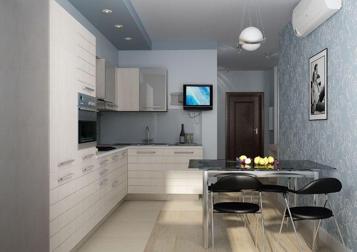 Идеальный дизайн кухни 9 кв. м: советы, фото интерьера Дизайн Кухни 3 кв Метров