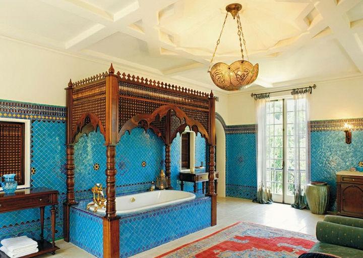 Ванная комната в индийском стиле