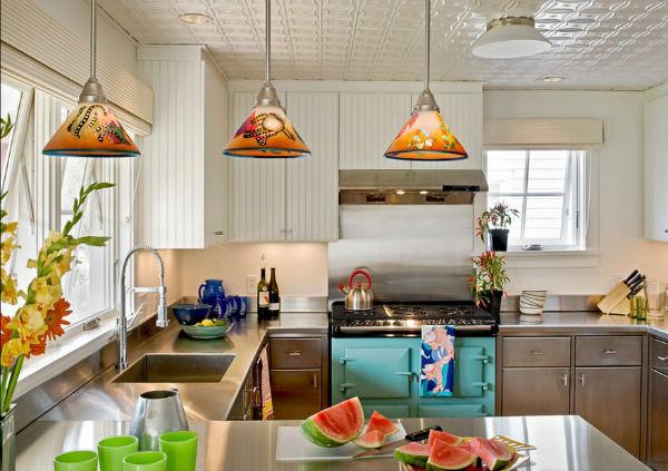 фасады для кухни из алюминиевого профиля