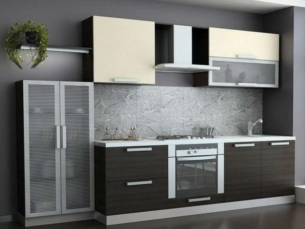 алюминиевый профиль для фасадов кухни