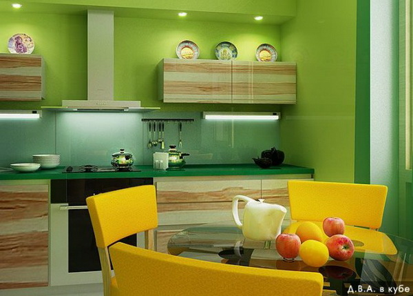Дизайн фартуков для кухни