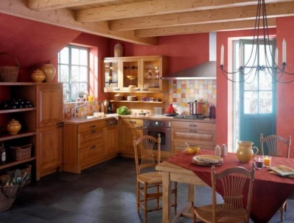 Дизайн кухни фото в загородном доме