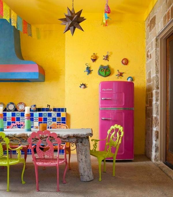 дизайн кухни яркие фото