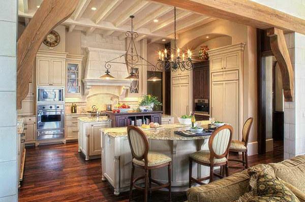 романтичный интерьер кухни