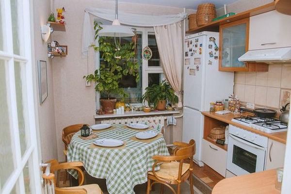 Маленькая кухня своими руками фото