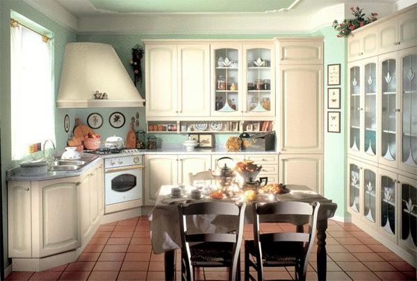 Уютная кухня интерьер