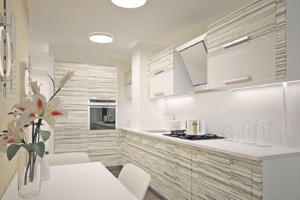 Дизайн кухни с коробом (16 фото варианты интерьера кухни