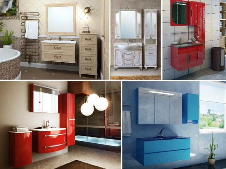 Идеи для мебели в ванной