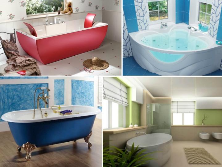 Классификация ванн