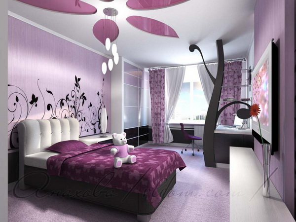 for 8 year old girl bedroom