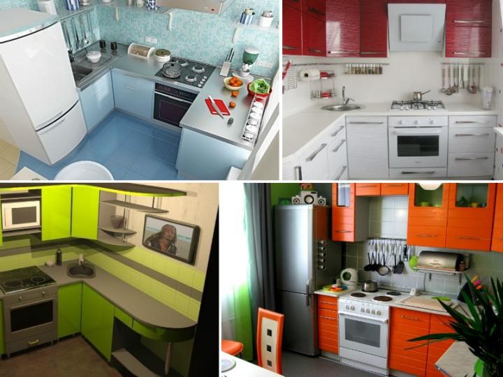Кухня 2 на 2 коллаж