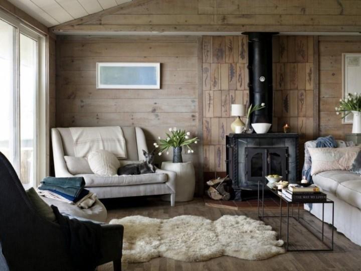 Стили и интерьеры загородных домов: описания и фото