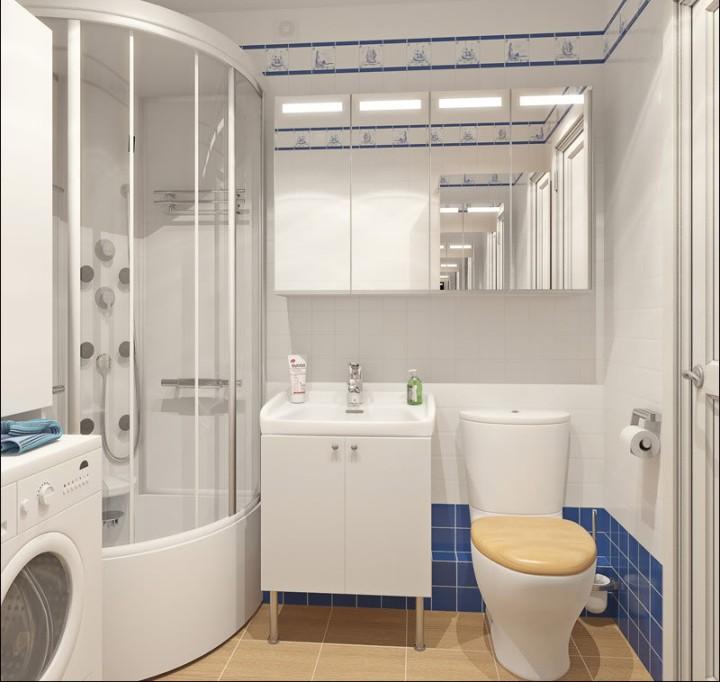 Мебель для ванной комнаты в хрущевке