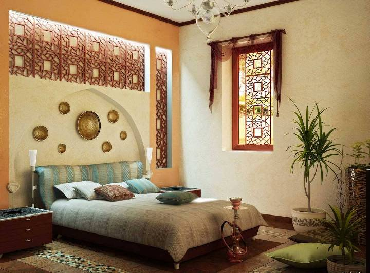 Декор интерьера в арабском стиле