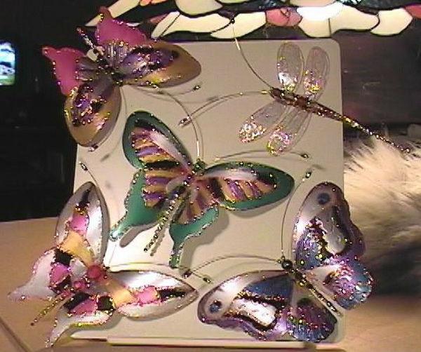 Бабочки из разных материалов своими руками 49