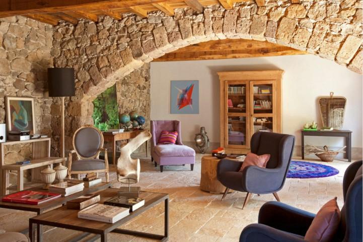 Интерьер в тосканском стиле