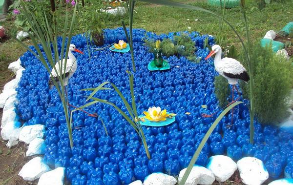 фото клумб в огороде своими руками