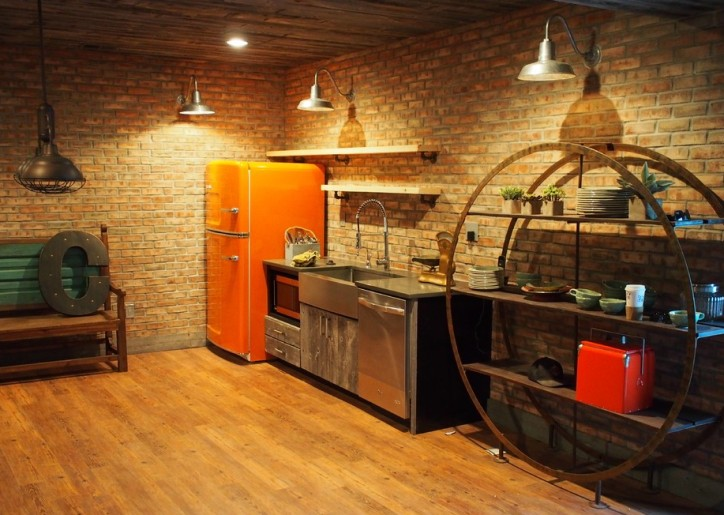 Кухня в стиле стимпанк