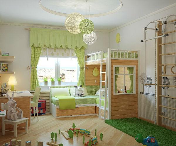 освещения детской комнаты?