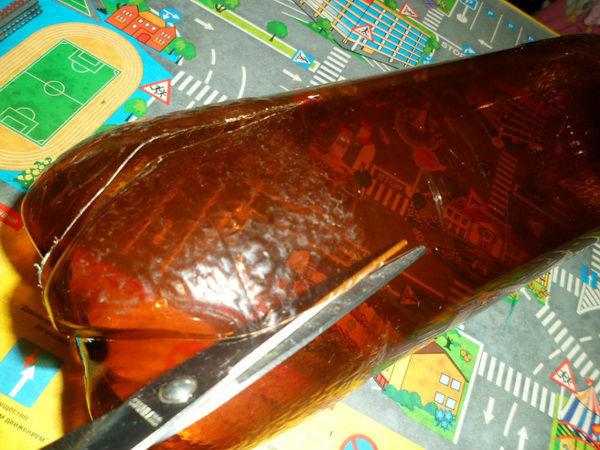 Сделать пальму из пластиковых бутылок пошагово