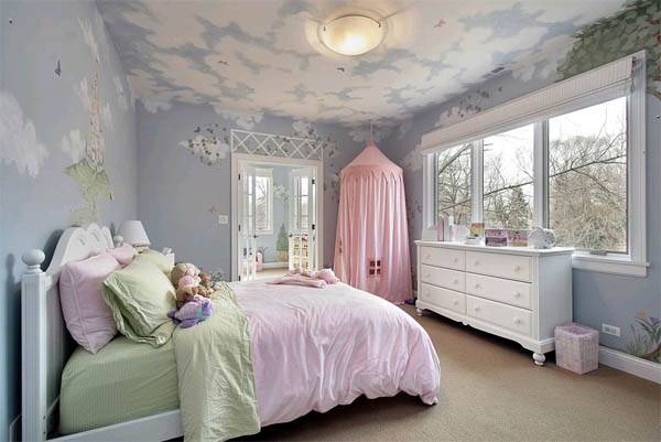 детская комната в стиле ретро