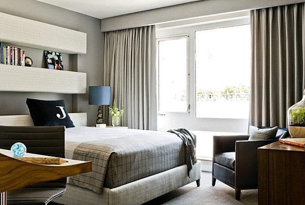 спальня в мужском стиле